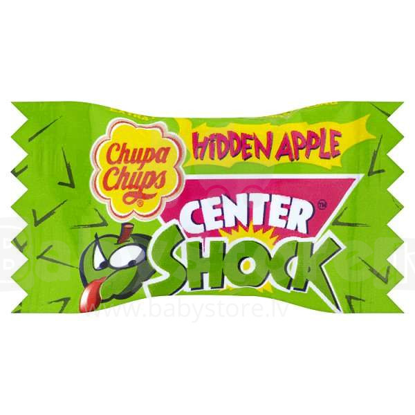 Žvýkačka Chupa Chups Center Shock JABLKO