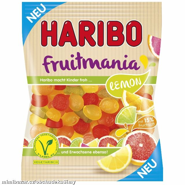 Haribo Fruitmania - Lemon 200g